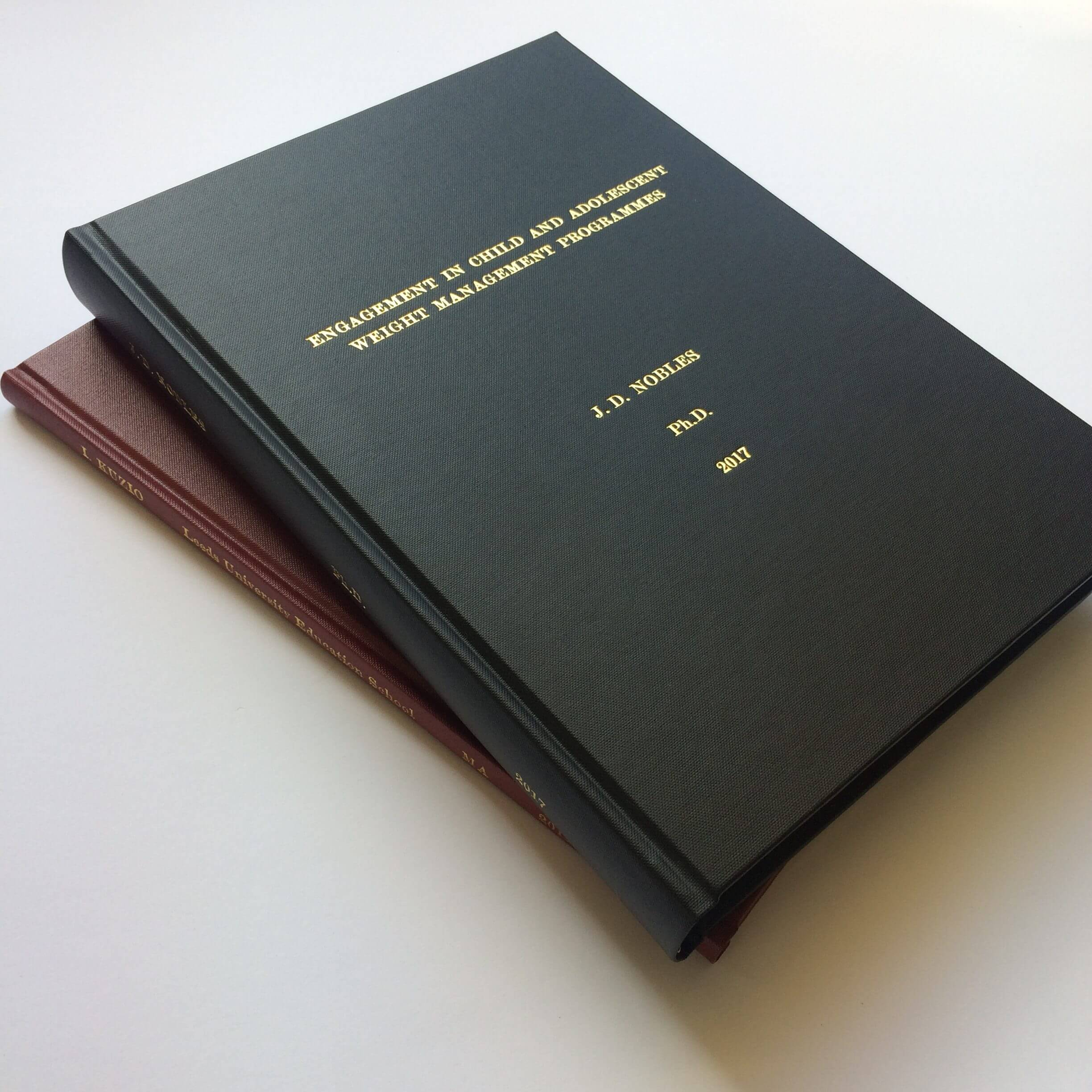 dissertation binders leeds