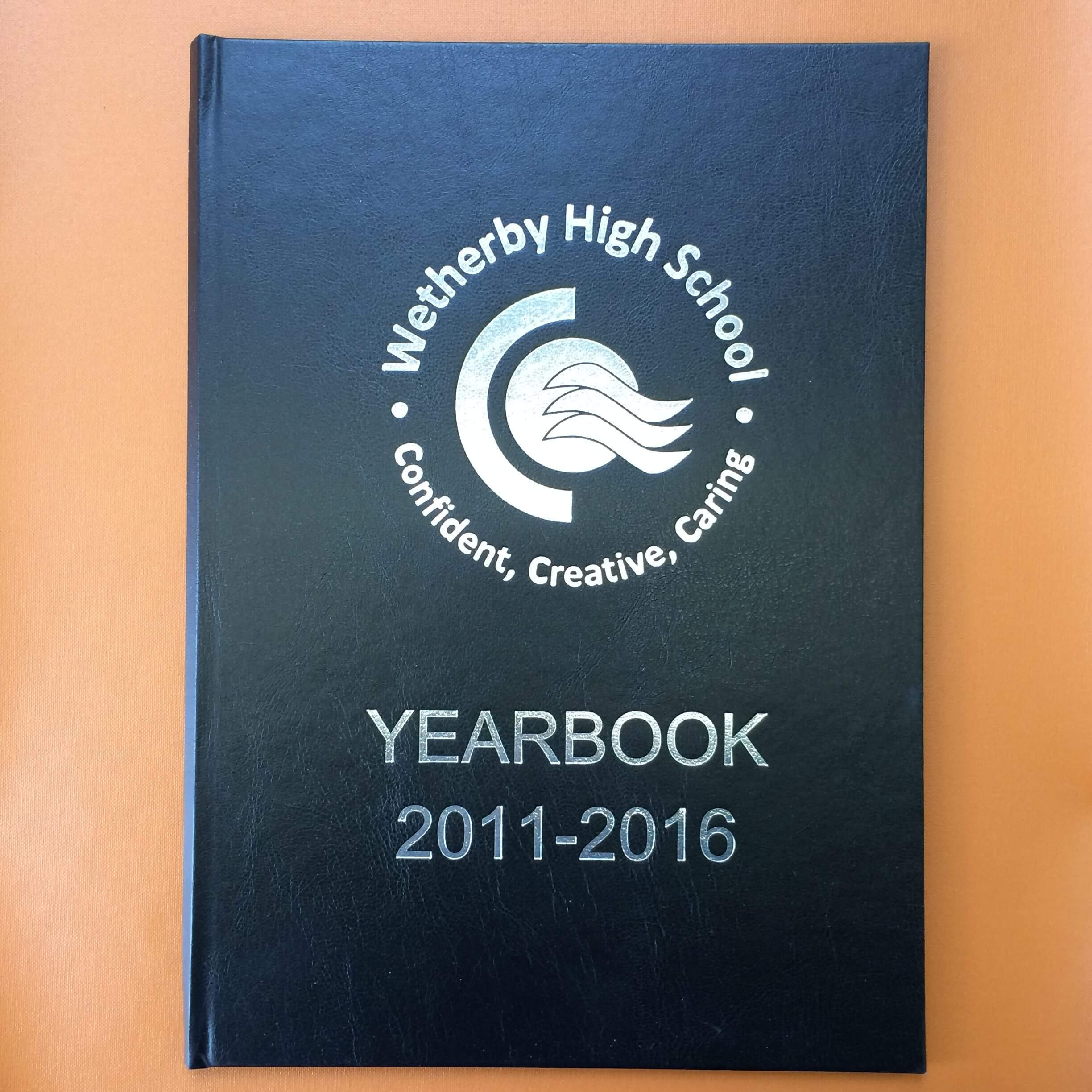 Wetherby yearbooks 2011-16