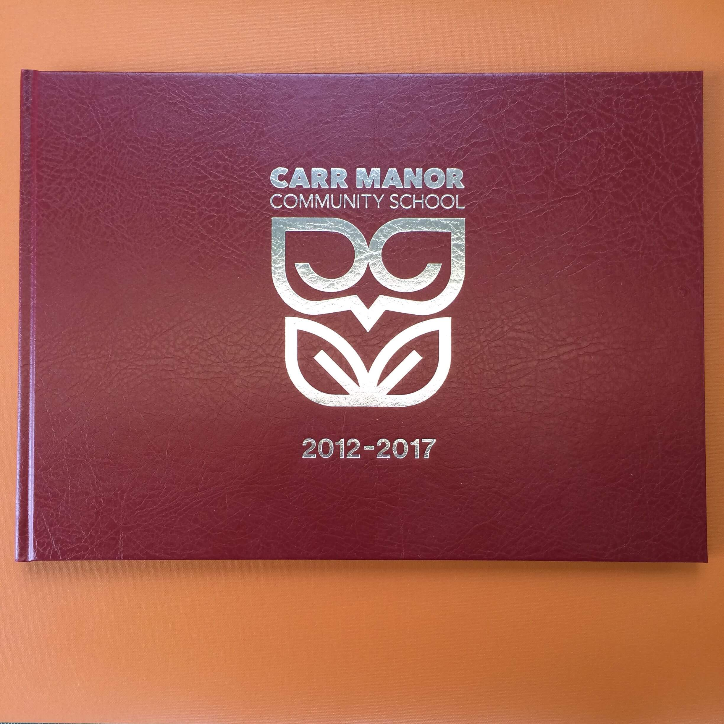 Carr manor yearbooks 2012-17